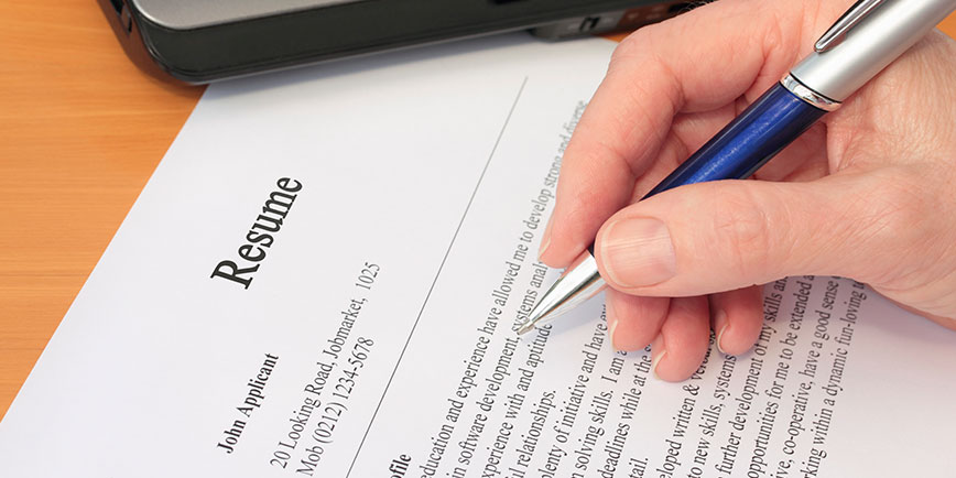 Tips For Preparing Your Resume Student Edge News